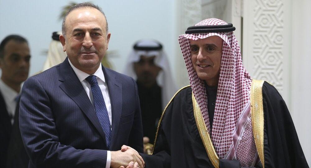 Türkiye Dışişleri Bakanı Mevlüt Çavuşoğlu- Suudi Dışişleri Bakanı Adil el Cubeyr
