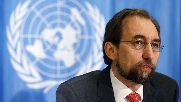 Birleşmiş Milletler İnsan Hakları Yüksek Komiseri Zeid Ra'ad el Hüseyin - Sputnik Türkiye