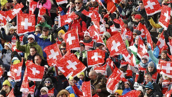 İsviçre bayrakları - Sputnik Türkiye