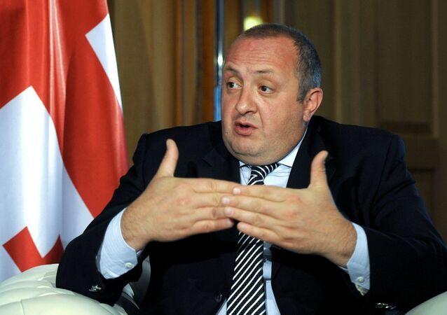 Gürcistan Devlet Başkanı Georgiy Magrvelaşvili