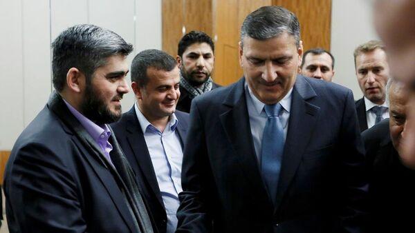 Yüksek Müzakere Komitesi (YMK) Başkanı Riyad Hicab - Sputnik Türkiye