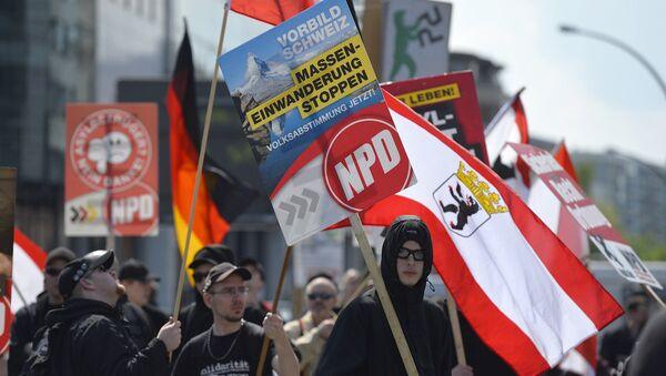 Almanya'da faaliyet gösteren aşırı sağcı Ulusal Demokrat Parti (NFD) - Sputnik Türkiye