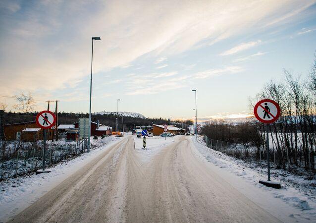 Norveç-Rusya sınırı