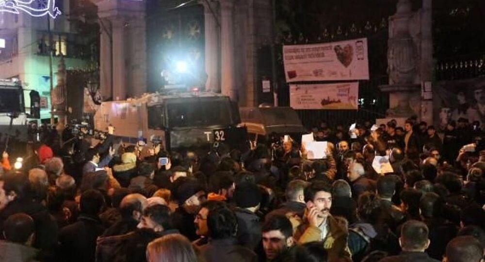 Cizre için İstanbul'da eylem
