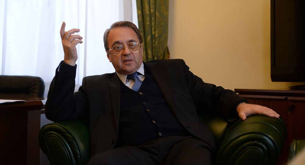 Interview with Russian Deputy Foreign Minister Mikhail Bogdanov