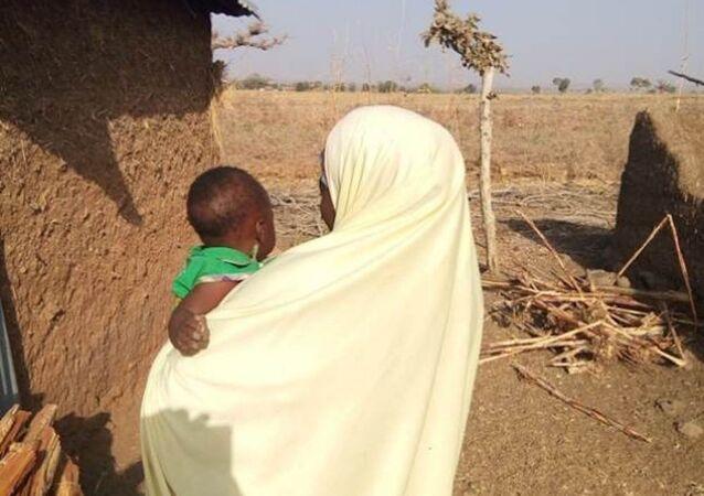 Boko Haram'ın elinden kurtarılan 16 yaşındaki Nijeryalı Zara John