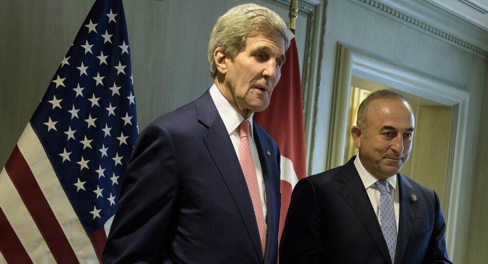 Mevlüt Çavuşoğlu - John Kerry