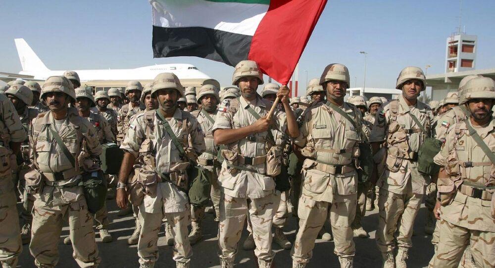 Birleşik Arap Emirlikleri askerleri