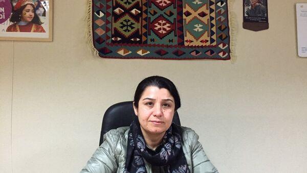 YPJ komutanı Nesrin Abdullah - Sputnik Türkiye