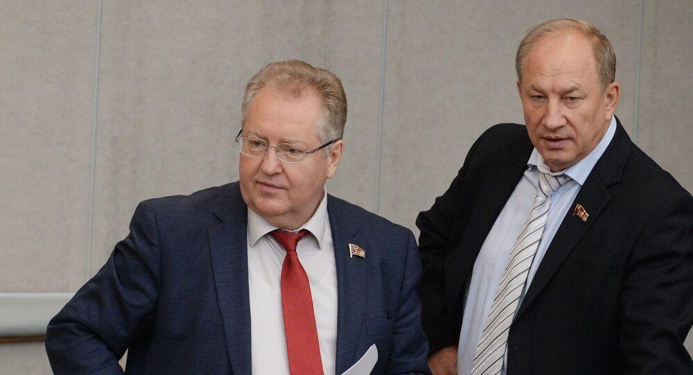 Sergey Obuhov - Valeriy Raşkin (sağda)