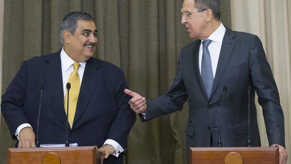 Bahreyn Dışişleri Bakanı Halid bin Ahmed El Halife, Rusya Dışişleri Bakanı Sergey Lavrov ile görüştü - Sputnik Türkiye