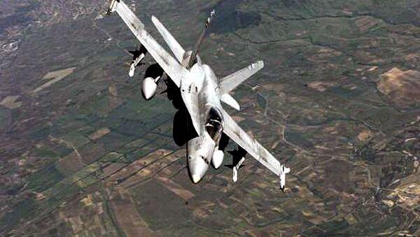 Kanada, IŞİD karşıtı koalisyona 6 CF-18 jetiyle destek vermişti. - Sputnik Türkiye