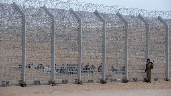 Mısır-İsrail sınırı - Sputnik Türkiye
