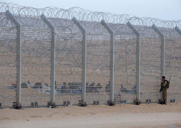 Mısır-İsrail sınırı