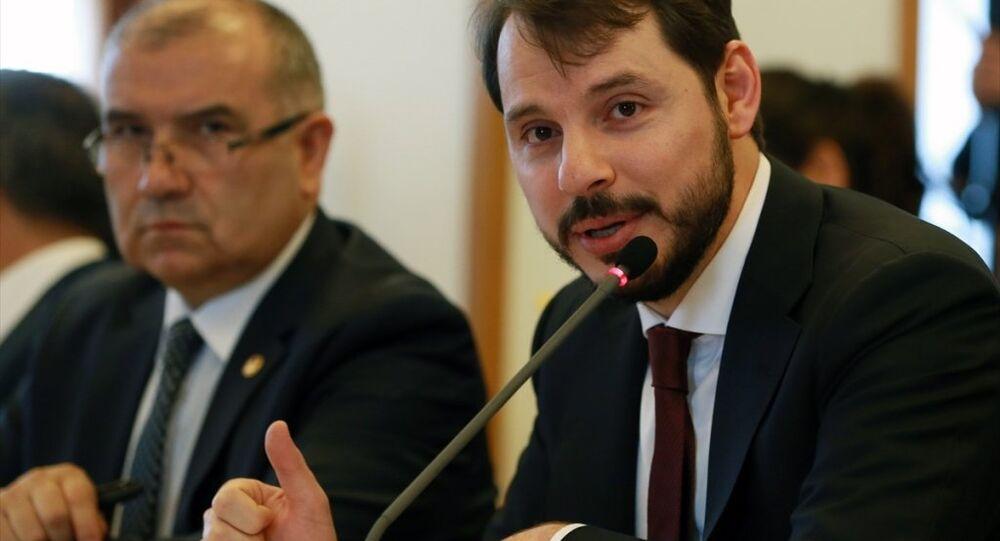 Enerji ve Tabii Kaynaklar Bakanı Berat Albayrak, TBMM Plan ve Bütçe Komisyonunda, bakanlığının bütçesinin sunumunu yaptı.