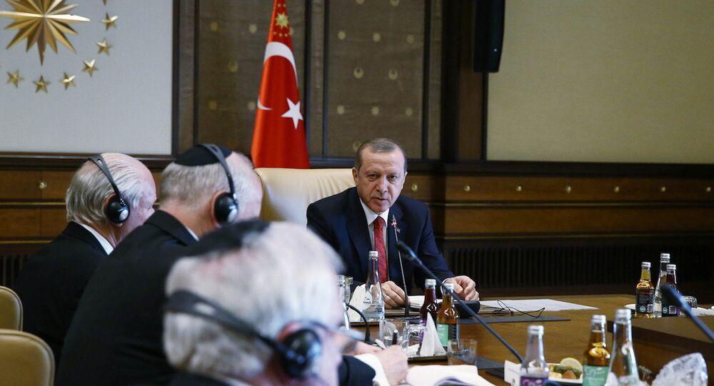 Cumhurbaşkanı Erdoğan, Yahudi kuruluşlarını kabul etti