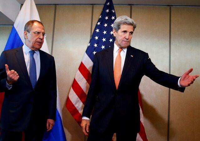 John Kerry - Sergey Lavrov