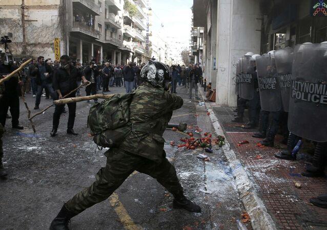 Yunanistan - Çiftçi eylemi