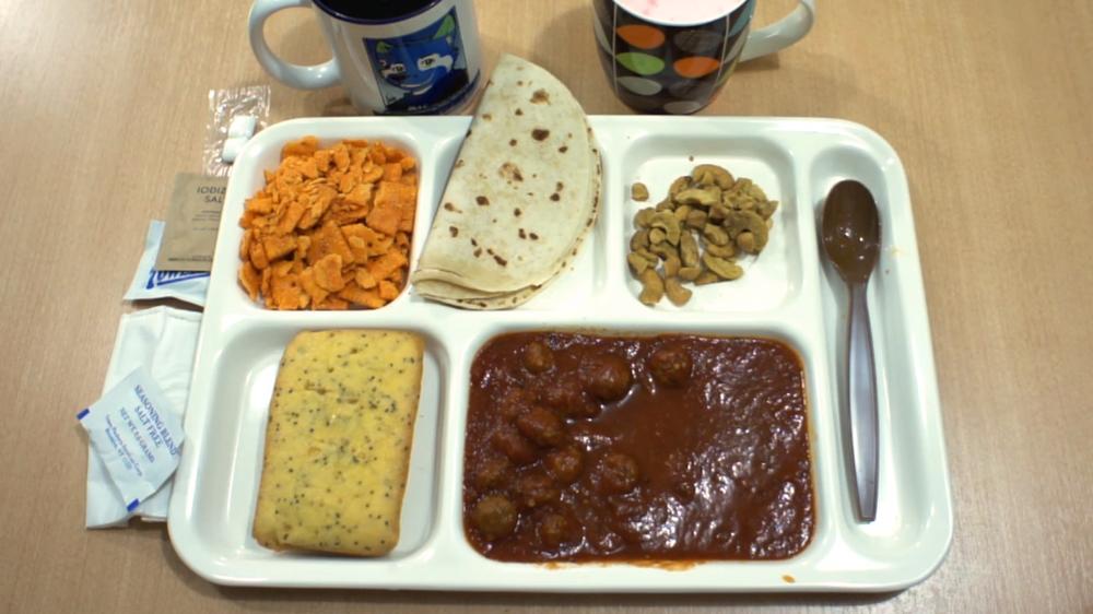 ABD ordu yemeği
