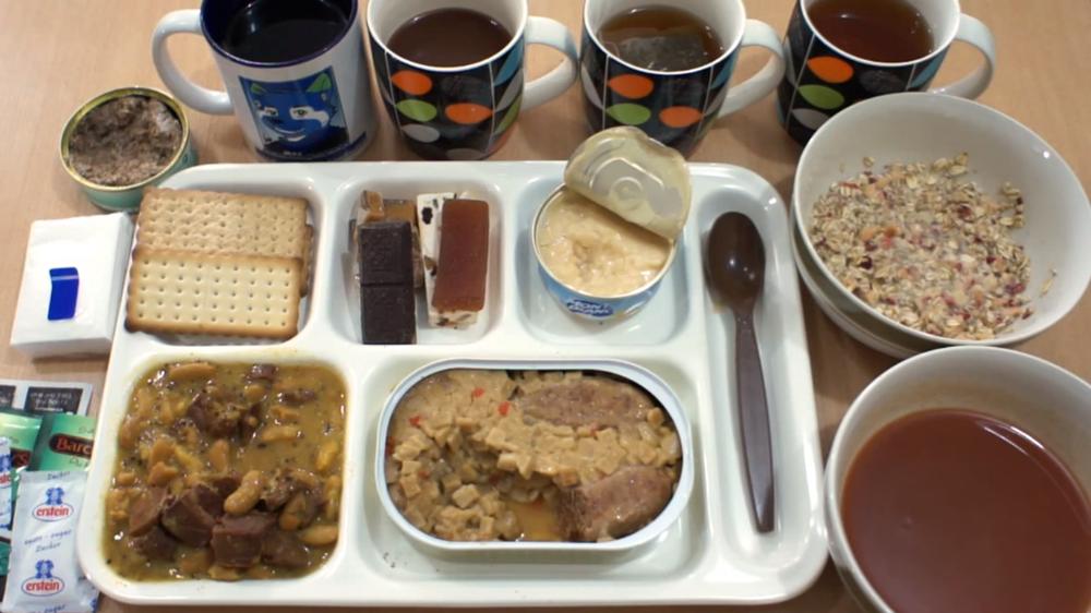 Fransa ordu yemeği