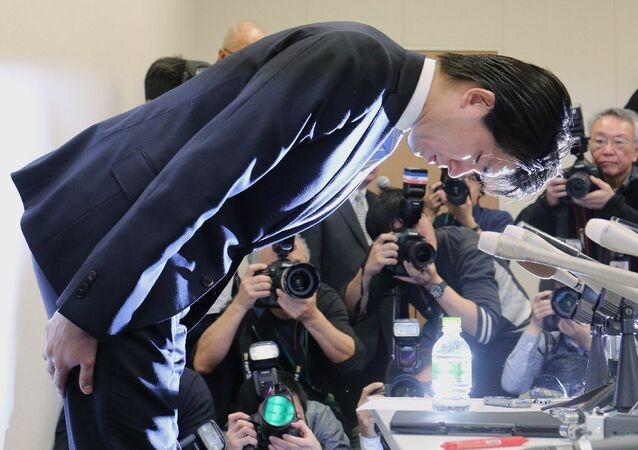 Japonya Liberal Demokrat Parti milletvekillerinden Kensuke Miyazaki