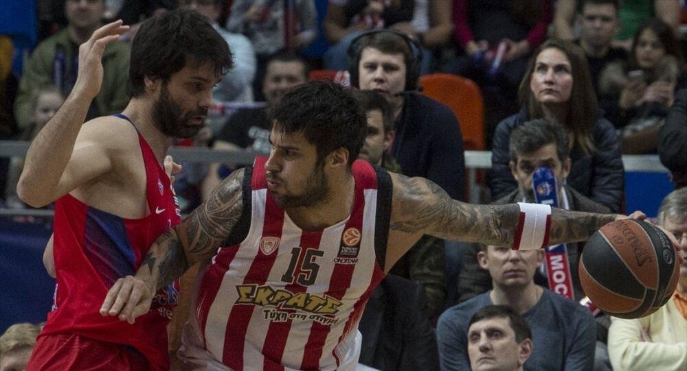 CSKA Moskova ile Olympiacos Piraeus