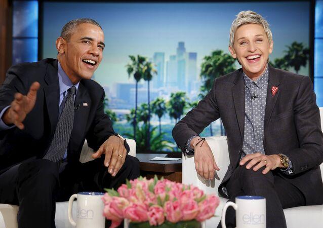 ABD Başkanı Barack Obama- Ellen DeGeneres