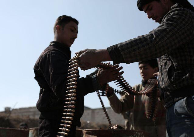 Ceyş'ül İslam militanları