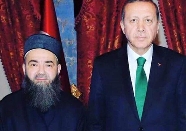 Cübbeli Ahmet olarak bilinen Ahmet Mahmut Ünlü, Cumhurbaşkanı Recep Tayyip Erdoğan'la görüştü.