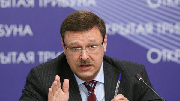 Rusya Federasyon Konseyi Dışişleri Komitesi Başkanı Konstantin Kosaçev - Sputnik Türkiye