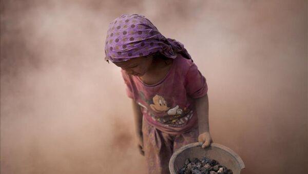 Bangladeş'te çocuk işçiler - Sputnik Türkiye