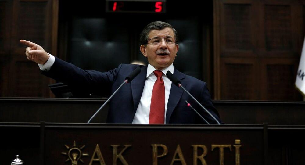 AK Parti Genel Başkanı ve Başbakan Ahmet Davutoğlu, TBMM'de AK Parti Grup Toplantısı'na katılarak konuşma yaptı.
