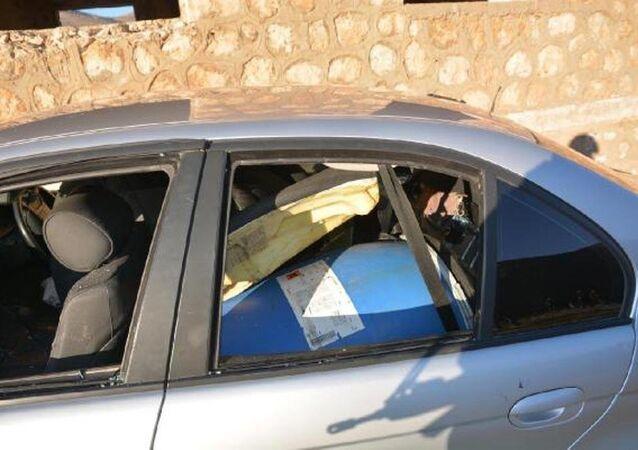 Mardin'de 650 kilo bomba yüklü araç imha edildi