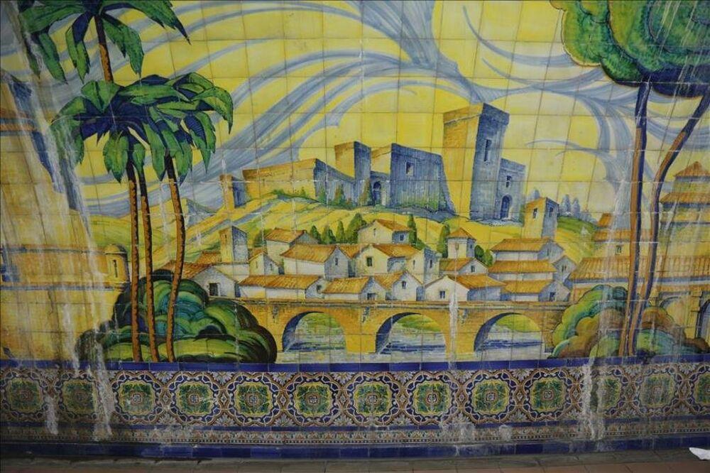 Buenos Aires metrosunda Endülüs Sanatı