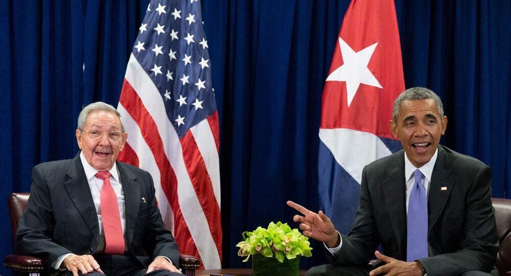 Raul Castro- Barack Obama