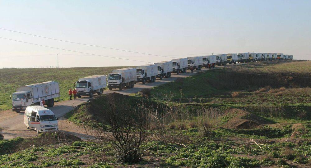 Suriye / İnsani yardım