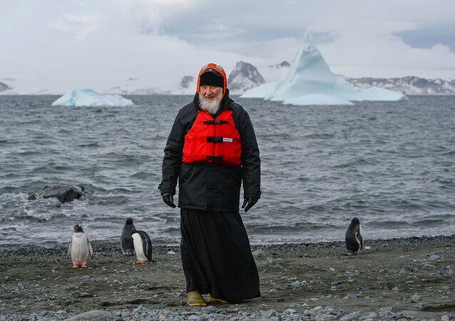 Patrik Kiril Antartika'da