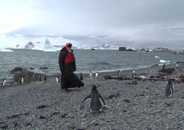 Patrik Kirill Antartika'da