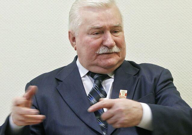 Polonya eski Cumhurbaşkanı Lech Walesa