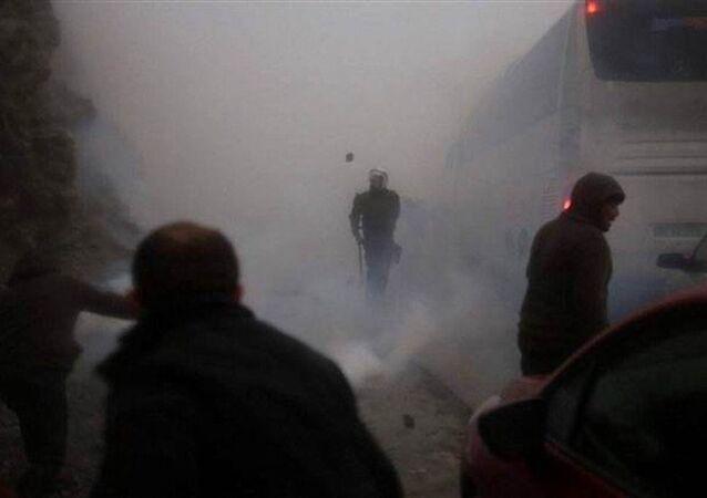 Maden eylemlerine destek için Artvin'e gitmeye çalışan vatandaşlar, polisin müdahalesiyle karşılaştı