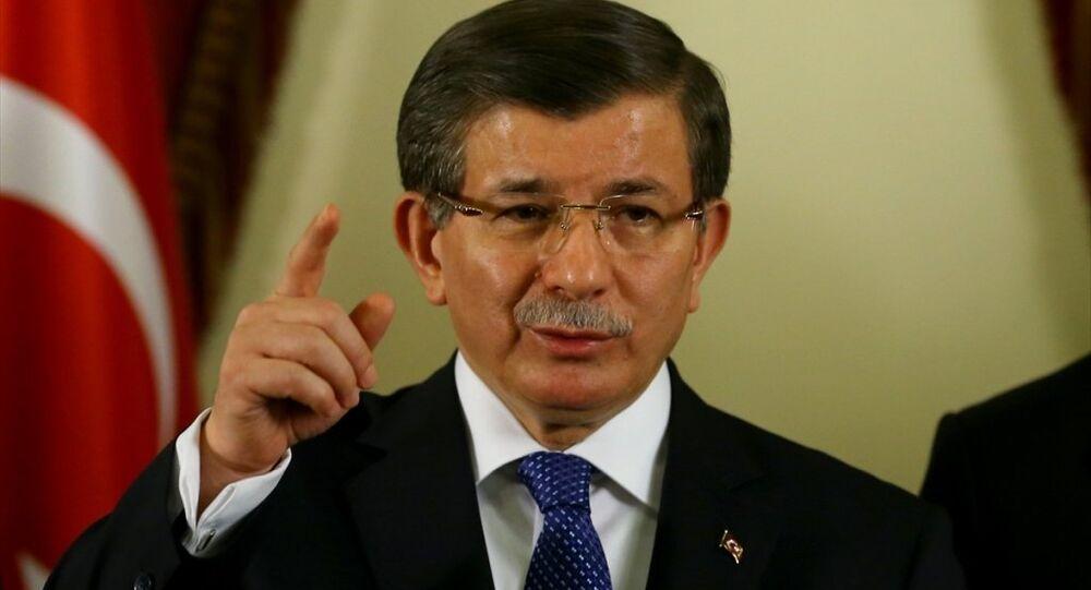 Başbakan Ahmet Davutoğlu, Ankara Valiliği'nde aldığı brifing sonrası basın mensuplarına açıklamalarda bulundu.