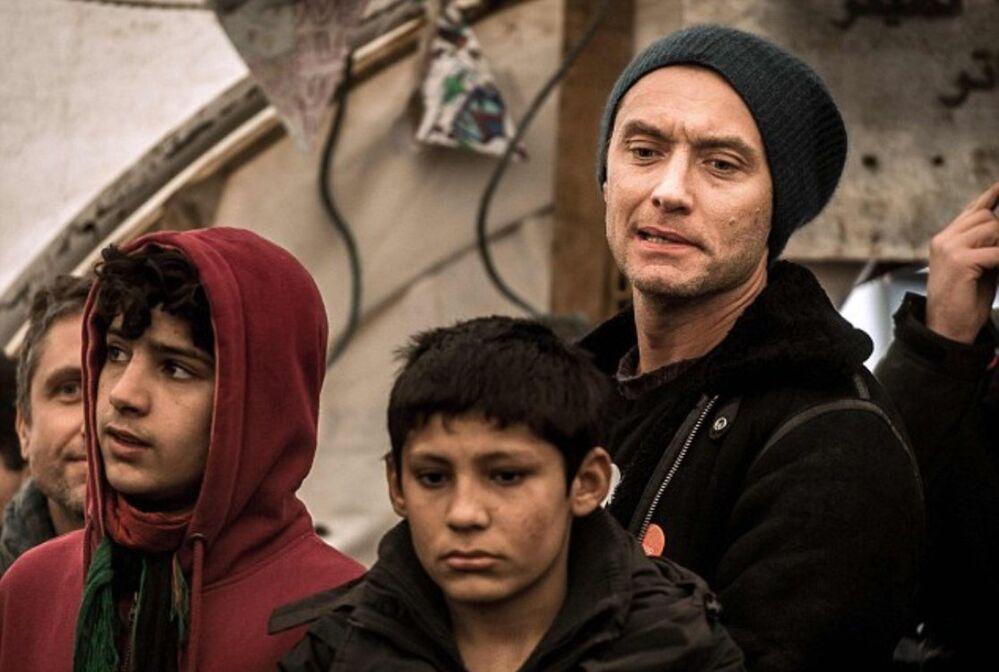 Jude Law Calais'de