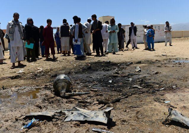 Parwan'daki intihar saldırısını Taliban üstlendi. (8 Temmuz 2015)