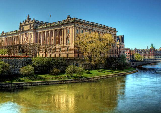 Riksdag Parliament Building - Stockholm, Sweden