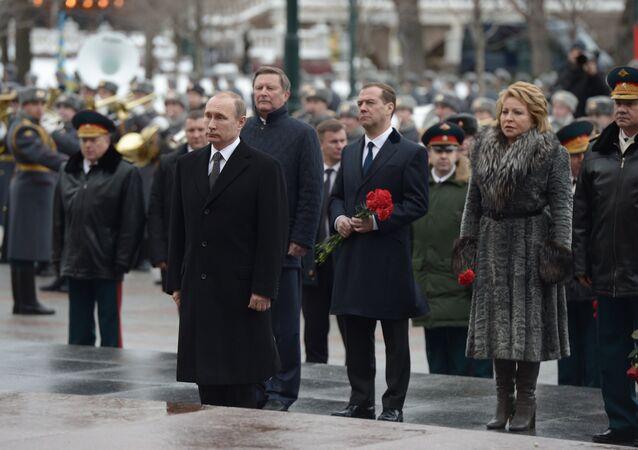 Rusya Devlet Başkanı Vladimir Putin- Rusya Başbakanı Dmitriy Medvedev