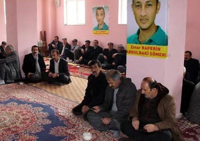 Ankara bombacısı için kurulan taziye evine operasyon