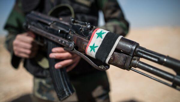 Suriye askeri - Sputnik Türkiye