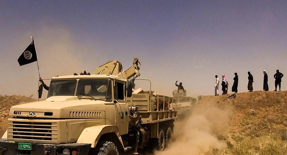 Haseke'deki IŞİD militanları