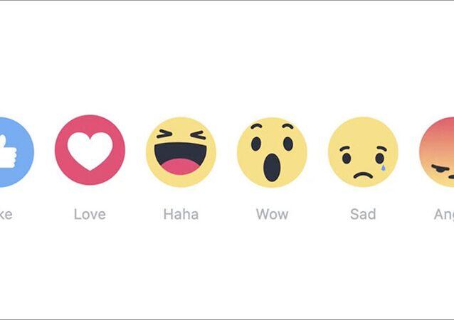 Facebook'un yeni 'tepkileri'