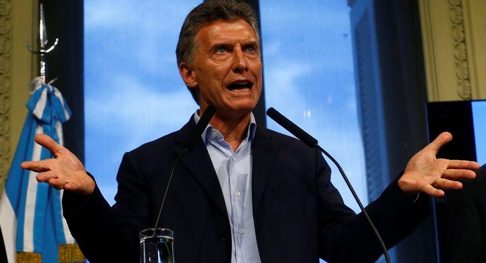 Arjantin Devlet Başkanı Mauricio Macri